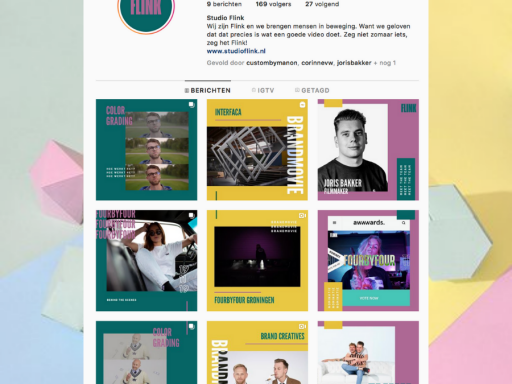 Studioflink social media branding